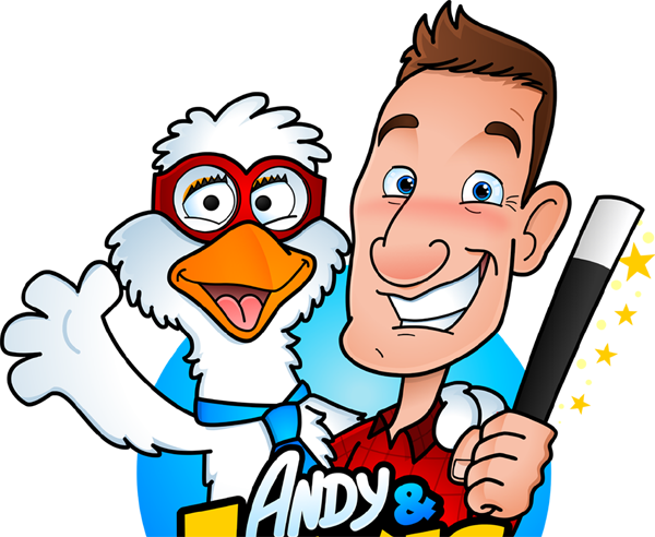 Animated Andy and Lewis Cartoon